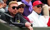 Boris Becker - Marian Vajda - Gebhard Gritsch - Tennis - French Open 2014 / Bild: (c) Getty Images (Clive Brunskill)