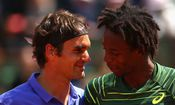 Roger Federer - Gael Monfils - Tennis - French Open - Paris 2015 / Bild: (c) Getty Images (Clive Brunskill)