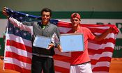 Taylor Harry Fritz, Tommy Paul - French Open 2015 / Bild: (c) Getty Images (Dan Istitene)