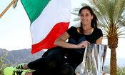Flavia Pennetta - TENNIS - WTA, Indian Wells 2014 / Bild: (c) Getty Images (Matthew Stockman)