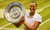 Petra Kvitova - TENNIS - Wimbledon 2014 / Bild: (c) Getty Images (Al Bello)