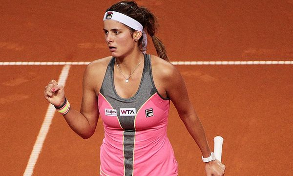 Julia Görges - TENNIS - WTA, Stuttgart 2014 / Bild: (c) Bongarts/Getty Images (Adam Pretty)