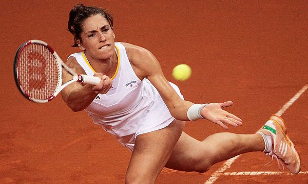 Andrea Petkovic - TENNIS - WTA, Stuttgart 2014 / Bild: (c) Bongarts/Getty Images (Adam Pretty)