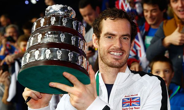 Andy Murray - Davis Cup / Bild: (c) 2015 Getty Images
