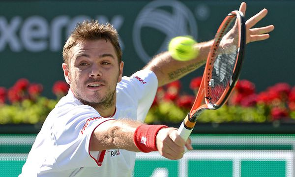 Stanislas Wawrinka - TENNIS - ATP, Indian Wells 2014 / Bild: (c) GEPA pictures/ USA TODAY Sports